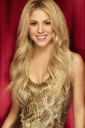 Shakira as Shakira