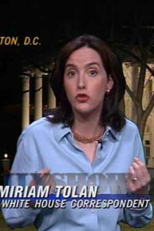 Miriam Tolan as Correspondent