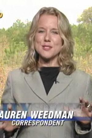 Lauren Weedman as Correspondent