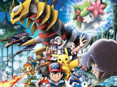 pokemon giratina and the sky warrior dvd