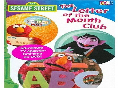 Sesame Street The Letter Of The Month Club.The Letter Of The Month Club Sesame Street S0e01