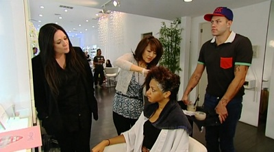 The Girl With The Best Top Model Freakout