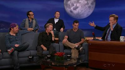 Adam Sandler, David Spade, Nick Swardson, Norm Macdonald, Rob Schneider, clipping.